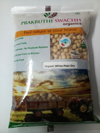 Picture of WHITE DRY PEAS 500gm