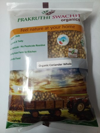 Picture of Organic CORIANDER WHOLE 100gm
