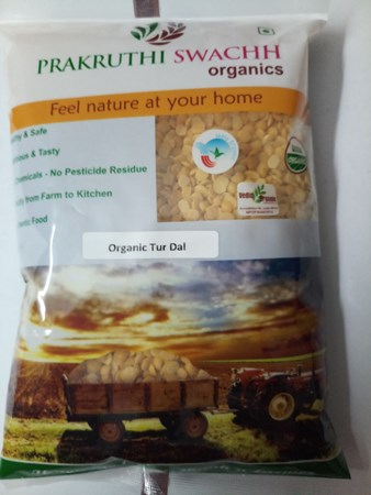 Picture of Organic ARHAR DAL(TUR DAL) 1kg