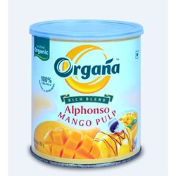 Picture of Organa Alphonso Mango Pulp - Box