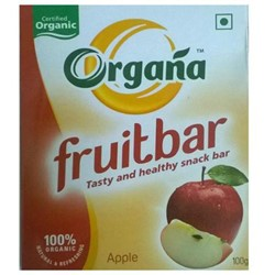Picture of Organa Apple Fruit Bar - Box