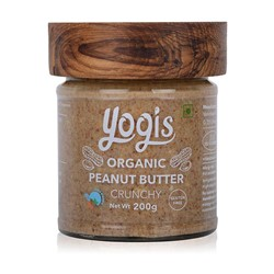 Picture of Organic Peanut Butter Crunchy 200g - Box