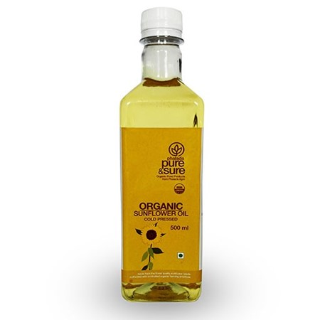 Picture of Sunflower Oil - Pure & Sure - 500ml