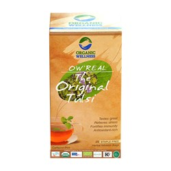 Picture of Organic Tulsi Tea online | OW' Real The Original Tulsi - 25 Tea Bag Box