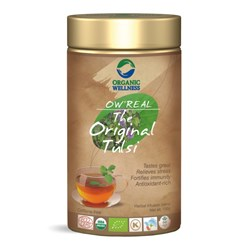 Picture of Organic Tulsi Tea online | OW' Real The Original Tulsi Tin - 100gm