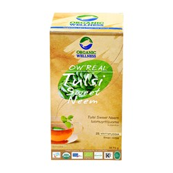 Picture of Organic Tulsi Sweet Neem Tea online | OW' Real Tulsi Sweet Neem- 25 Tea Bag Box