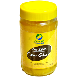 Picture of Organic Ghee online | OW'Zeal Ghee 400 ml