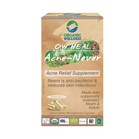 Picture of Organic Acne Online | OW'Heal Acne - Never