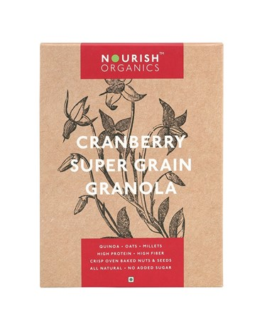 Picture of Organic Cranberry Super Grain Granola 300gms