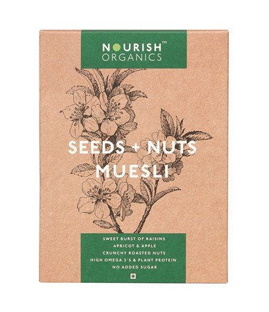 Picture of Organic Seeds & Nuts Muesli 300gms