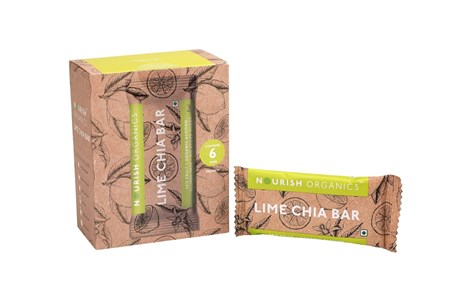 Picture of Organic Lime Chia Bar 30gms