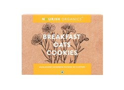 Picture of Organic Breakfast Oat Cookies 150gms