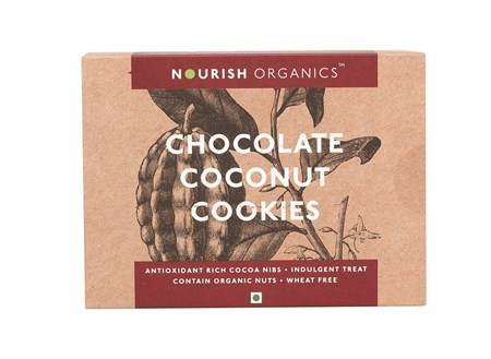 Picture of Organic Chocolate Coconut Cookies 150gms