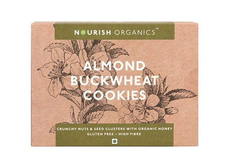 Picture of Organic Almond Buckwheat Cookies 150gms