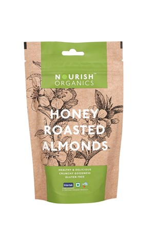 Picture of Organic Honey Roasted Almonds* 100gms