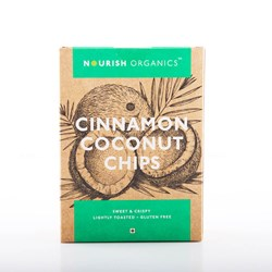 Picture of Organic Cinnamon Coconut Chips 90gms