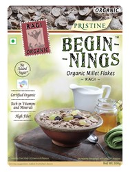 Picture of Beginnings - Organic Ragi Flakes, 300g