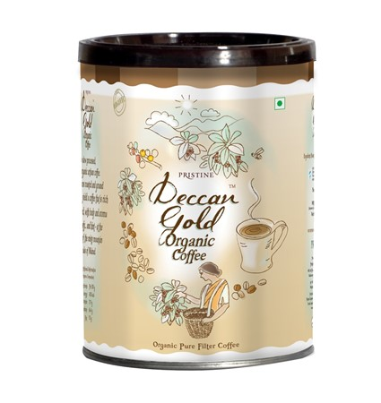 Picture of Deccan Gold Organic Filter Coffee, 150g