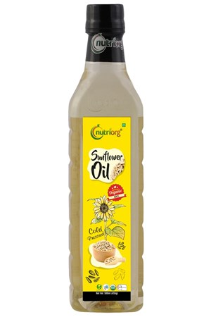Picture of Organic Sunflower oil 1000 ml - Nutriorg