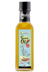 Picture of Organic Flaxseed Oil - 100 ml - Nutriorg
