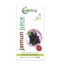 Picture of Organic Jamun Juice 500ml- Nutriorg