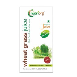 Picture of Organic Wheat grass juice (Giloy & Tulsi) 500ml
