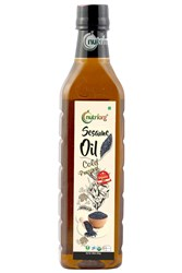 Picture of Organic Sesame Oil 1000ml - Nutriorg