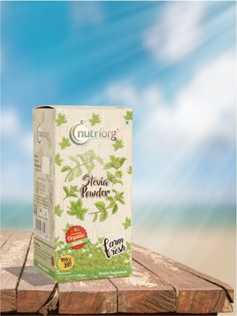 Picture of Organic Stevia Leaf Powder - 150 g - Nutriorg