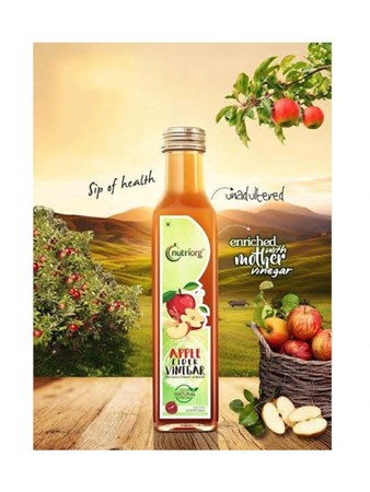Picture of Organic Apple Cider Mother Vinegar 250 ml - Nutriorg