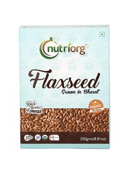 Picture of Organic Flaxseed 250g -Nutriorg